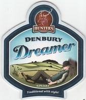 HUNTERS BREWERY  (IPPLEPEN, ENGLAND) - DENBURY DREAMER - PUMP CLIP FRONT - Enseignes