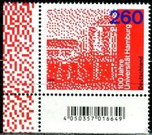 BRD - Mi 3449 ECKE LIU - ** Postfrisch (H) - 260C     100 Jahre Uni Hamburg, Ausgabe 01.03.2019 - [7] République Fédérale