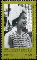 Brasil 2018 ** Recuerdo De La Visita De La Reina Elizabeth II Del Reino Unido. - Brasile
