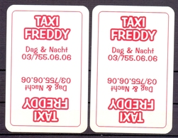 Belgie - Speelkaarten - ** 2 Jokers - Taxi Freddy - Cartes à Jouer Classiques