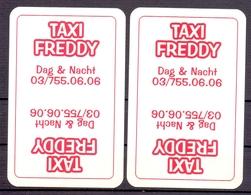 Belgie - Speelkaarten - ** 2 Jokers - Taxi Freddy - Playing Cards (classic)