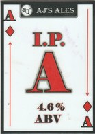 AJ'S ALES  (WALSALL, ENGLAND) - I.P.A - PUMP CLIP FRONT - Enseignes