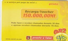 Mozambique - Giro 150.000 - Moçambique