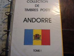 *SUPER AFFAIRE *  'ANDORRE FRANCAIS QUASI  COMPLET  FORTE COTE  TIMBRES**ET *  BLOCS CARNETS ETAT PARFAIT   DEPART A 1€ - Collections