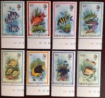 Montserrat 1983 Fish With Imprint Date MNH - Fische