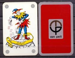 Belgie - Speelkaarten - ** 1 Joker - Van Pelt - Cartes à Jouer Classiques