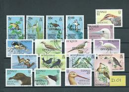 Birds,oiseaux,vogels,vögels 18x Used/gebruikt/oblitere(D-01) - Verzamelingen, Voorwerpen & Reeksen
