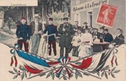 """LAFRIMBOLE - LASCEMBORN """"Réunion à La Frontière"""" 1910 (lot Pat 60) - Autres Communes"""