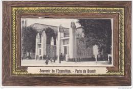 PARIS Carte à Système (10 Vues) - Souvenir De L'Exposition Des Arts Décoratifs De 1925 - Porte De Brandt - France