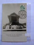 México Real Photo Maximun Card  1940 Monumento Of Road Between México AND Guadalajara - Mexiko