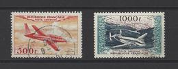 FRANCE  YT  PA N° 32-37  Obl  1954 - Posta Aerea