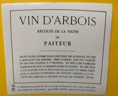 10063 - Vin D'Arbois Récolte De La Vigne De Pasteur Henri Maire Jura - Etiquettes