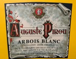 10069 - Auguste Pirou Arbois Blanc Jura - Etiquettes
