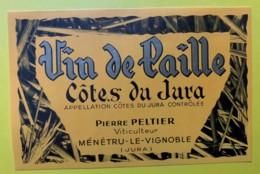 10086 - Côtes Du Jura  Vin De Paille Pierre Peltier Menetru Le Vignoble - Etiquettes
