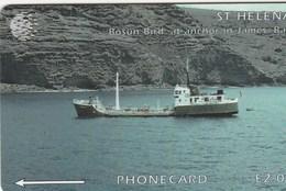 St. Helena Island -  Ship Bosum Bird - 5CSHD - St. Helena Island