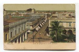 Veracruz, Mexico - Hotel De Diligencias Y Calle Principal - Early Postcard, Undivided Back - Mexique
