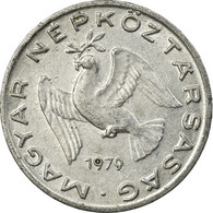 Monnaie, Hongrie, 10 Filler, 1979, Budapest, TTB, Aluminium, KM:572 - Hongrie