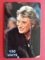 Johnny Hallyday 150u TELECOM CANADA 250 Exemplaires Prépayée Numérotée Used 31.05.2003 - Personnages