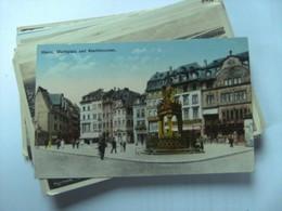 Duitsland Deutschland Rheinland Pfalz Mainz Marktplatz Und Marktbrunnen - Mainz