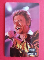 Johnny Hallyday 250u TELECOM CANADA 250 Exemplaires Prépayée Numérotée Mint 31.05.2003 - Personnages