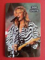 Johnny Hallyday 300u TELECOM CANADA 250 Exemplaires Prépayée Numérotée Used 31.05.2003 - Personnages