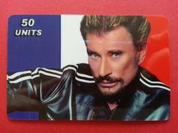 Johnny Hallyday 50u TELECOM CANADA 250 Exemplaires Prépayée Numérotée Mint 31.05.2003 - Personnages