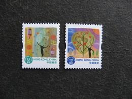 HONG-KONG : TB Paire N° 1688a Et N° 1689a, Neufs XX. - 1997-... Région Administrative Chinoise