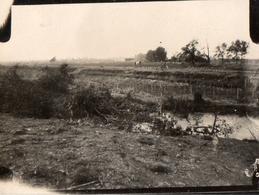 PHOTO ALLEMANDE - LITHUANIA LITUANIE - TRANCHEE DEVANT KOWNO - KAUNAS - GUERRE 1914 1918 - 1914-18