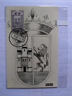 México Real Photo Maximun Card 1942 400 Years Mérida - Mexiko