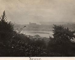 PHOTO ALLEMANDE - LITHUANIA LITUANIE - PANORAMA SUR KOWNO - KAUNAS - GUERRE 1914 1918 - 1914-18