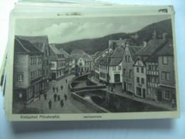 Duitsland Deutschland Nordrhein Westfalen Münstereifel Wertherstrasse - Duitsland