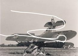 JL 1 Aéronautique Militaire Belge Avion/Aviation Fairey Fox Mai 40 En Pylône Repros - 1939-45