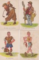 1954739Nico Broekman. Serie Grootheden Uit De Sportwereld. 10 Kaarten Waarvan 2 Met Punaisegaatjes. - Cartes Postales