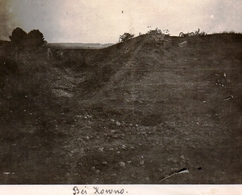 PHOTO ALLEMANDE - LITHUANIA LITUANIE - POSITION D'ARTILLERIE PRES DE KOWNO - KAUNAS - GUERRE 1914 1918 - 1914-18