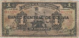 Bolivia 1 Boliviano 1929 Pk 112  Ref 6 - Bolivia