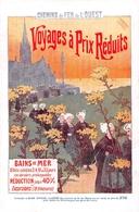 CHEMIN DE FER DE L OUEST  PUBLICITE   BRETAGNE - Chemins De Fer