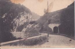 CPA - ROUTE DE ST BERON AUX ECHELLES (Savoie) - Les Echelles