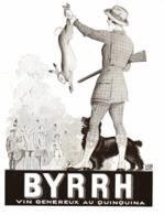"""PUB  """" BYRRH """" Par   Georges LEONNEC  1930  ( 20  ) - Autres"""