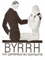 """PUB  """" BYRRH """" Par René VINCENT   1930  ( 21  ) - Autres Collections"""