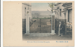 JAPAN - Entrance To Mary Colby School Kanagawa, SCHOOL FOR GIRLS, American Baptist Foreign Mission Society - Circa 1910 - Altri