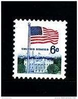 UNITED STATES/USA - 1970  6c FLAG AND WHITE HOUSE  SMALLER DESIGN  MINT NH - Stati Uniti