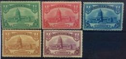 CUBA 1929 Capitol Havana Set Mint Hinged - Cuba