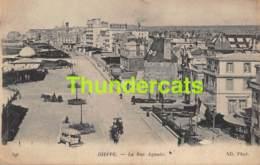 CPA 76 DIEPPE LA RUE AGUADO - Dieppe
