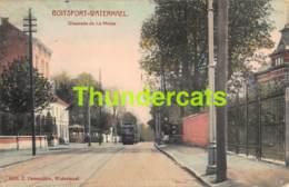 CPA BOITSFORT WATERMAEL CHAUSSEE DE LA HULPE TRAM - Watermael-Boitsfort - Watermaal-Bosvoorde