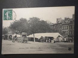 14 - Honfleur - CPA - Le Marché De La Place Thiers N° 356 - B.E - 1909 - - Honfleur