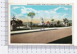 Monumento Al General Sucre En La Avenida Du Petit Thouars Lima Peru - Perù - Perù