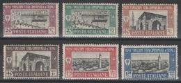 Tripolitaine - Tripolitania - YT 37-42 * - 1927 - Tripolitania