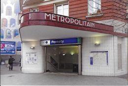 TRANSPORT METRO PARIS 75 SEINE  STATION PERNETY LIGNE 13 - Métro