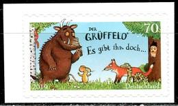 BRD - Mi 3452 Gestanzt - ** Postfrisch (B) - 70C     Der Grüffelo, Ausgabe 01.03.2019 - Ungebraucht