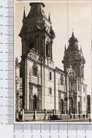 Basilica Mayor Lima Peru - Perù - Animata - Personaggi - Animada - Personas - Perù